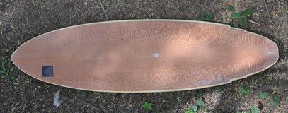 Lacewood balsa surfboard elleciel