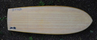 WuWei, mini simmons by elleciel custom surfboards