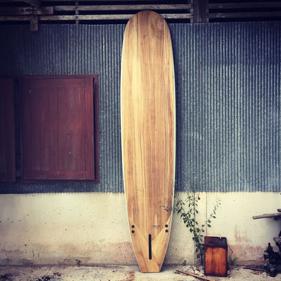 Longboard surfboard Wood