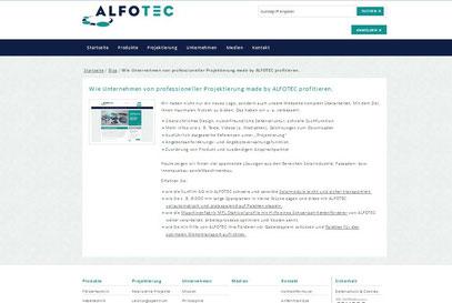 Newsletter ALFOTEC vom Texter aus Düsseldorf: Thomas Kadanik