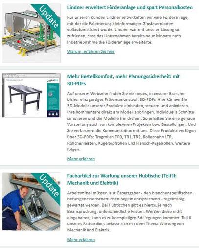 Newsletter ALFOTEC II vom Texter aus Düsseldorf: Thomas Kadanik