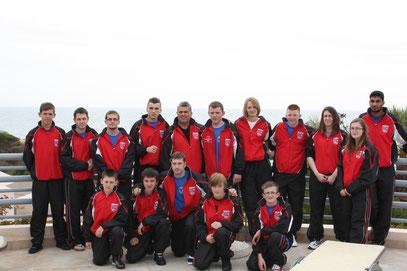 BCKA Team at hotel