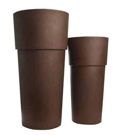 pot design, pots design, pots hauts ronds, pots haut ronds, pots de decoration, pots d'extérieur, pots d extérieur