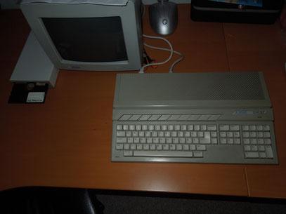 mit externer 5,25 Floppy + SC1224