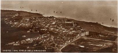 La piana dell'Aragona vista dal cielo all'origine