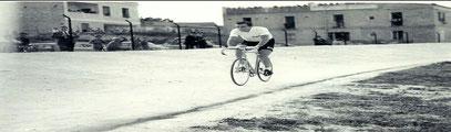 L'aragona e Fausto Coppi: 1955
