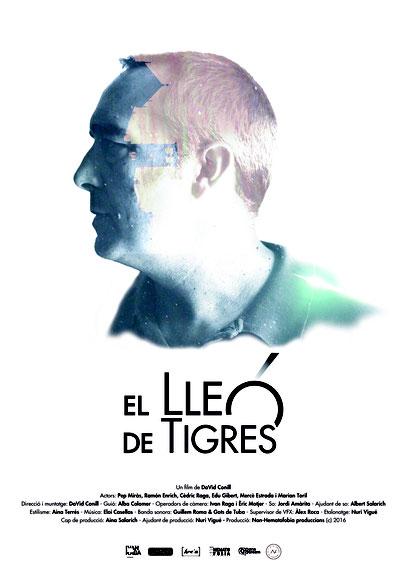 Poster de El lleó de tigres creat per Ivan Raga i Nuri Viguè.