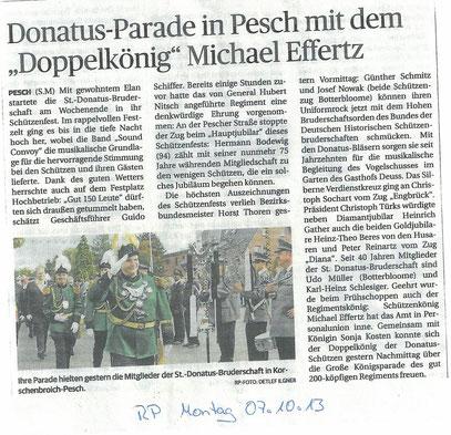 Quelle: Rheinische Post vom 07/10/13