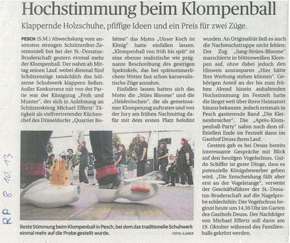 Quelle: Rheinische Post vom 08/10/13