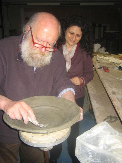Nino Di Simone e Cinzia Coccacgna