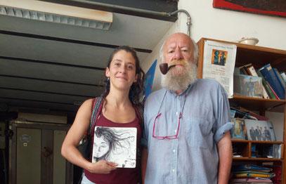 Corso di ceramica Nino e Giantommaso Di Simone con Sally Lattanzi cilena