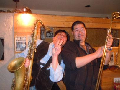 新見さん&笠井さん 2012.3.30