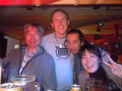 関野さん&グラーム&ドラゴン&コズパー 2012.3.29