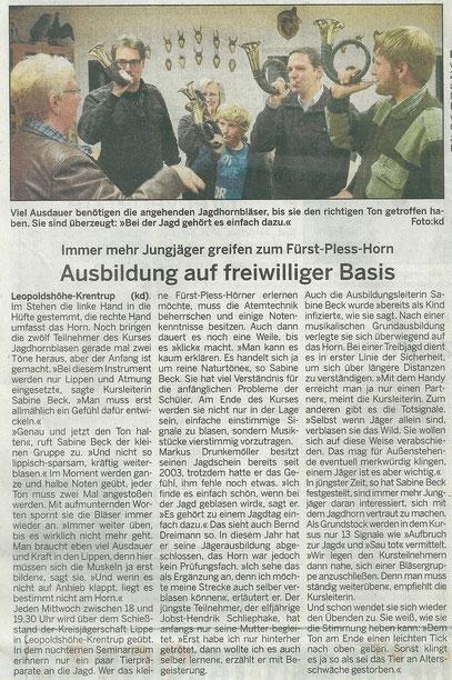 Lippe Aktuell v. 23.11.2011