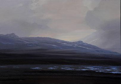 """Martin Guido Becker, """"Skandinavische Landschaft"""", 2007, 70/100 cm"""