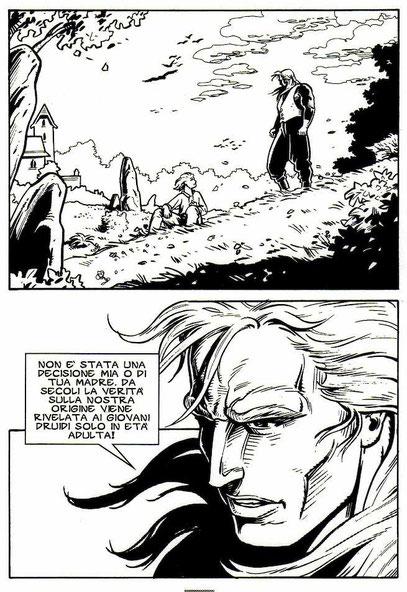 """Tavola da """"Ossian"""" - Star Comics - 1995"""