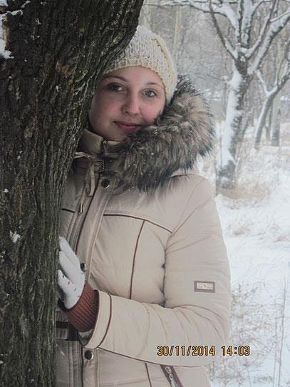 Первый снег  в 2014 году...