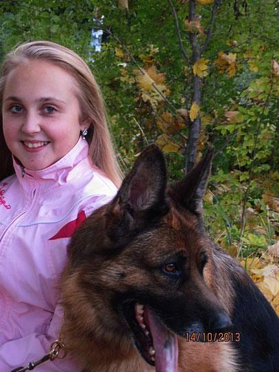 Регина с Валерией фон Нордэн (6 лет)