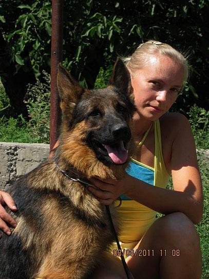 Кевин Нико-Тьюб,1 год 3 мес(Emilio von Santamar-Ями Украиниан Ланд)