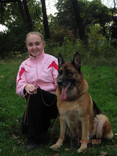 Регина и Шанта фон Нордэн, 8 лет