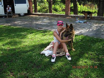 Голубицкая Татьяна с Отто Штольц Фатерланд