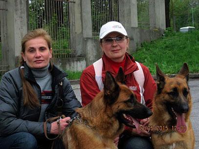 Белякова Оксана и Громова Оксана