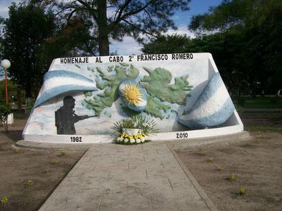 Corrientes-Al cabo Francisco Romero