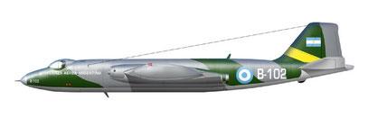 British Electric BAC Canberra B.62/T.64