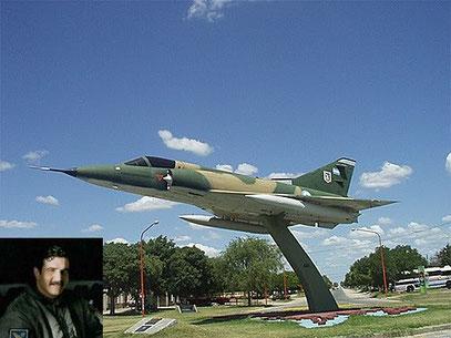 Al piloto Ricardo Volponi (Tres Arroyos)