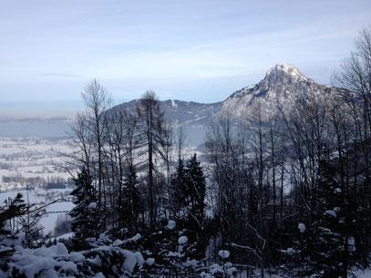 Blick auf Traunstein - Jänner 2013
