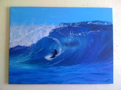 surfing - april 2012 (60x80cm)