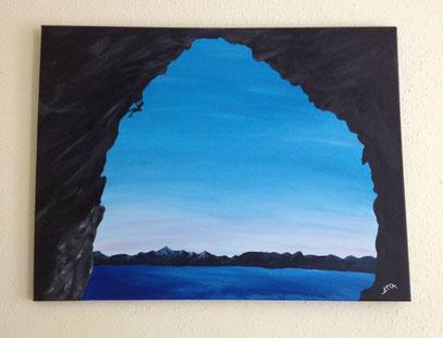 climbing archway - Mai 2013 (60x80cm)
