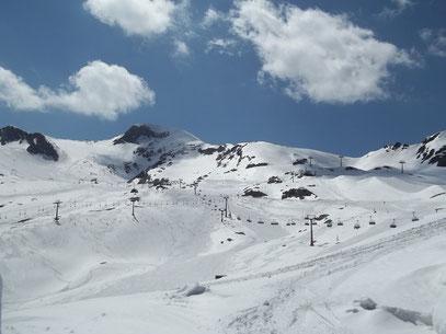 Skigebiet Kitzsteinhorn - Mai 2011