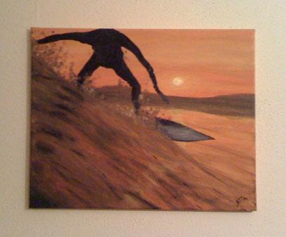 surfing sun - Februar 2012 (40x50cm)