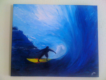 big wave - Februar 2012 (50x60cm)