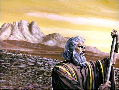 Moises y el monte Sínai