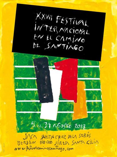 Festival en el Camino de Santiago 2017