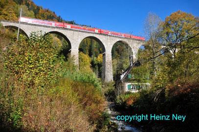 Ravennabrücke Höllental Schwazwald
