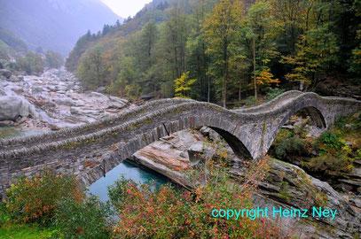 Brücke im Vezascatal