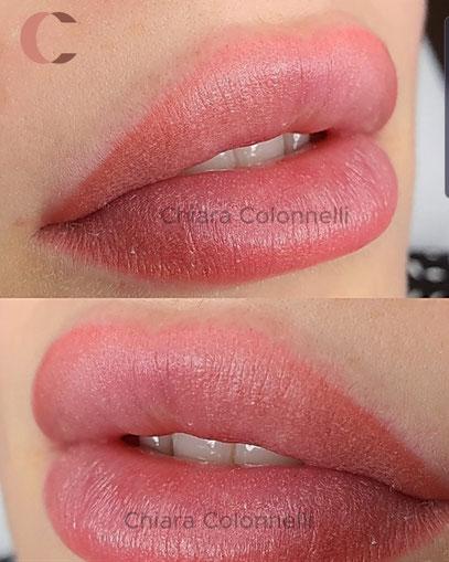 trucco semipermanente permanente labbra roma chiara colonnelli