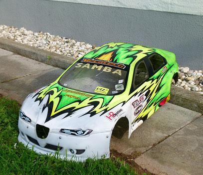 Alfa Wtcc Karosse