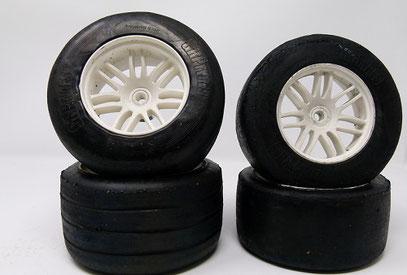 Gebrauchte F1 Reifen