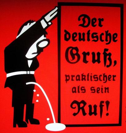 Deutscher Gruß -verdammt praktisch!