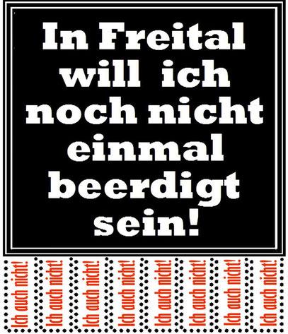 In Heidenau auch nicht! Juli/August 2012. Inzwischen sind noch etliche Städte dazu gekommen.