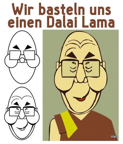 Dalai Lamas kann es gar nicht genug geben