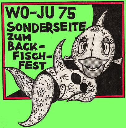 Backfischfest-Sonderseite vom 05.09.1975