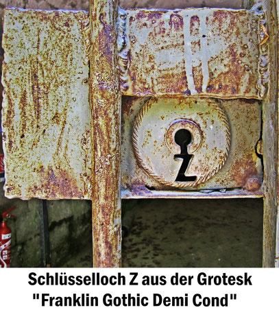 Torschloss Franklin Gothic Demi Cond