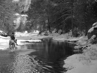 Río Lobos ( foto de Raúl Peñaranda )