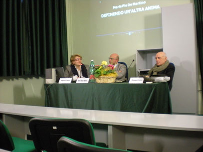 da sin. M.P. De Martino, A. Cesaro e G. Limone