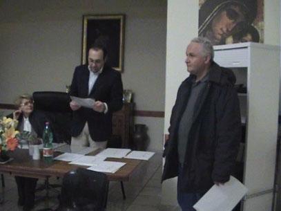 Maria Pia De Martino, Angelo Cocozza e Gennaro Liscio